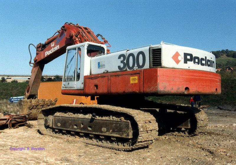 Poclain Excavator 300